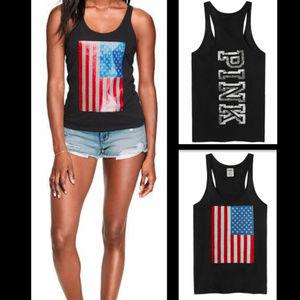 PINK Victoria's Secret American Flag Tank NEW!